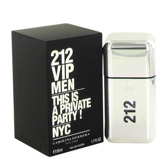 Picture of Carolina Herrera 212 VIP Eau De Toilette For Men (50 ml./1.7 oz.)